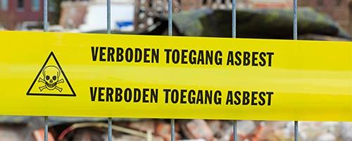 asbest herkennen door inspecteur